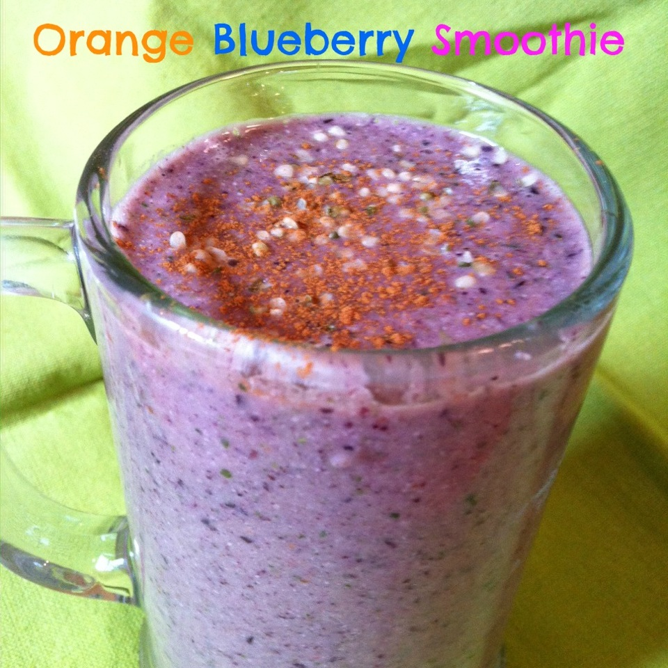 Orange Protein Power Smoothie