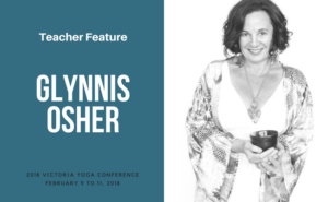 Glynnis Osher teaches at the Victoria Yoga Conference