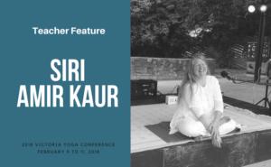 Siri Amir Kaur teaches at the Victoria Yoga Conference