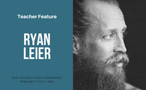 Ryan Leier at Victoria Yoga Conference