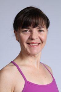 Kathryn Kusyszyn teaches at the Victoria Yoga Conference