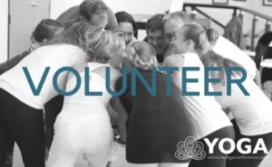 Volunteer at Victoria Yoga Conference