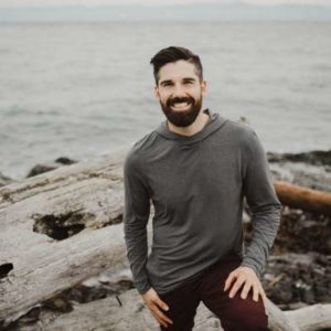 Brandon Sherbrook teaches at the Victoria Yoga Conference