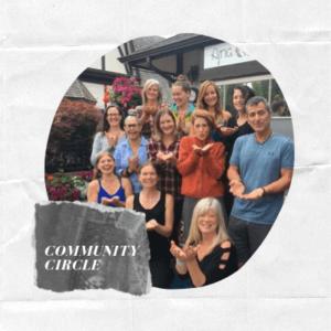 Community Circle at Ajna Yoga October 2019