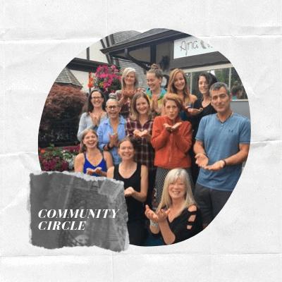 Community Circle at Ajna Yoga