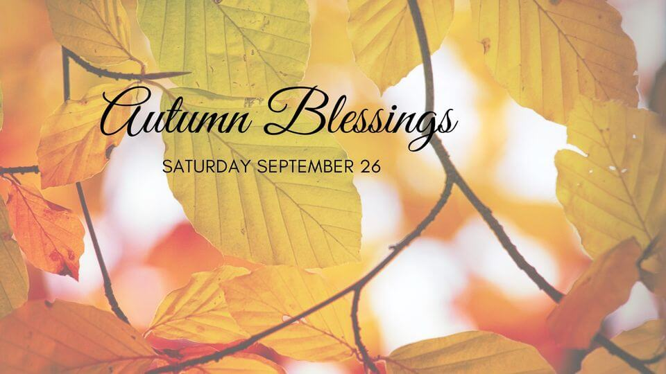 Autumn Blessings: A 2 hour Yoga & Meditation Retreat