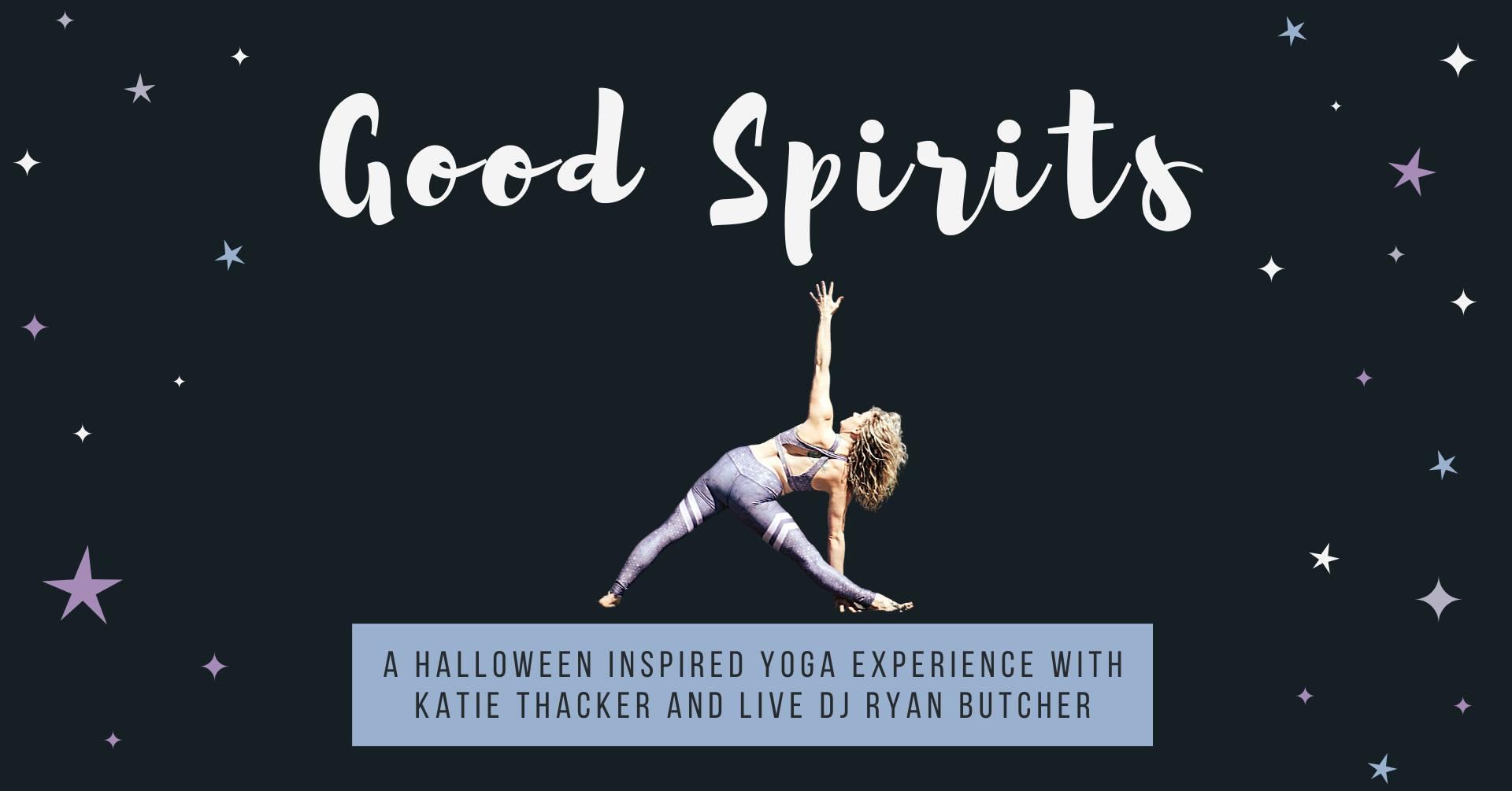 Good Spirits | Halloween Yoga with Live DJ