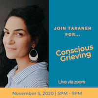 Conscious Grieving with Taraneh Erfan King